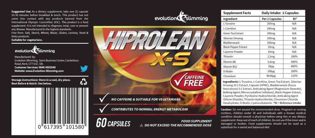 hiprolean-caffeine-free-fat-burner-label